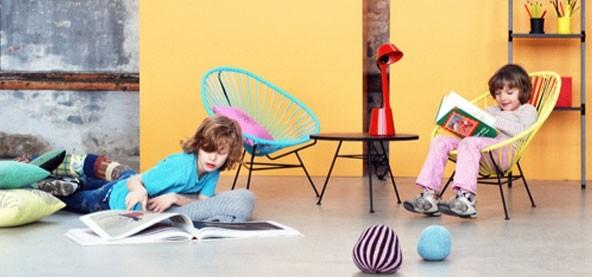 Acapulco mini til børn, lyserød - OK Design