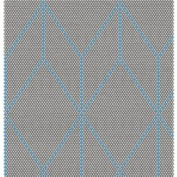 HAY Dot Carpet, 80 x 100 cm - Big Blue