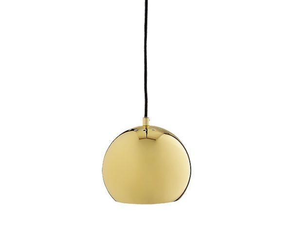 Frandsen Lighting - Ball pendel - messing