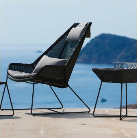 Breeze Dining loungestol highback - Cane-Line