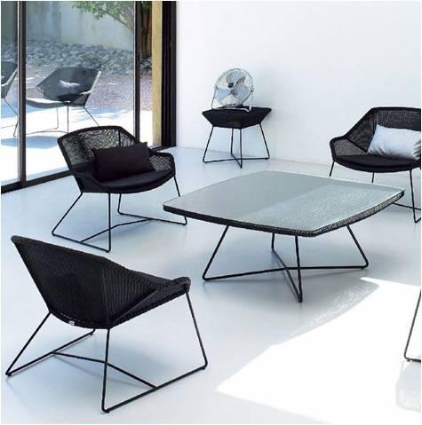 Breeze Dining Loungestol- Cane-Line