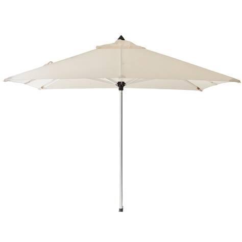 Oban parasol 3 x 3 m. Råhvid - Cane-Line