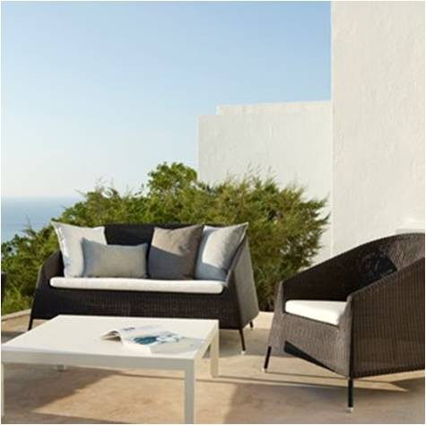 Kingston 2 pers. loungesofa - Cane-Line