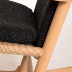 Tilbud - J16 gyngestol + Sæde, ryg- og nakkehynde