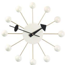 Vitra - Ball Clock - Hvid (vægur)