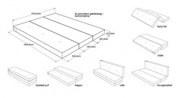 KlipKlap 3 fold XL i varm grå