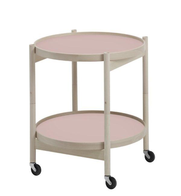 Hans Bølling bakkebord i eg Ø50 m. pink bakker
