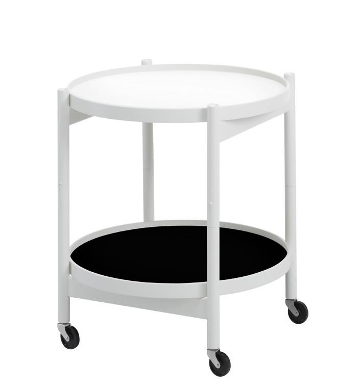 Hans Bølling bakkebord i hvid Ø50