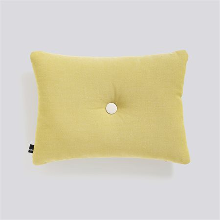 Hay - Dot Cushion Rime - MUSTARD