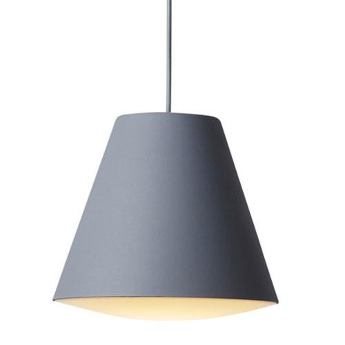 Wrong for hay - Sinker Pendant Lamp - Grå (large)