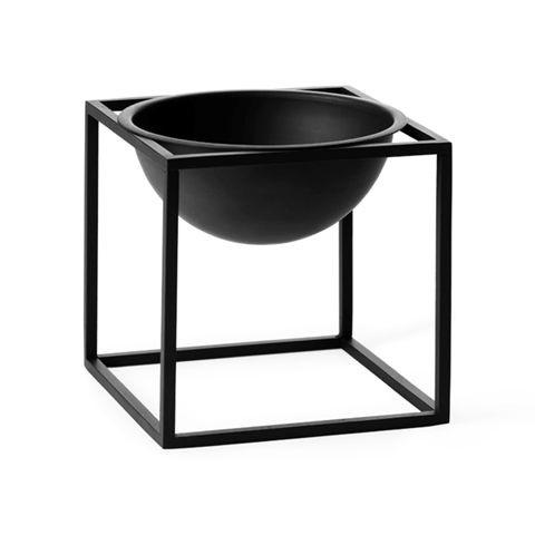 By Lassen - Kubus bowl lille - Sort