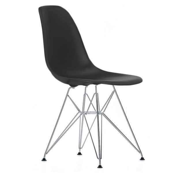Eames Plastic Chair (DSR) - Sort