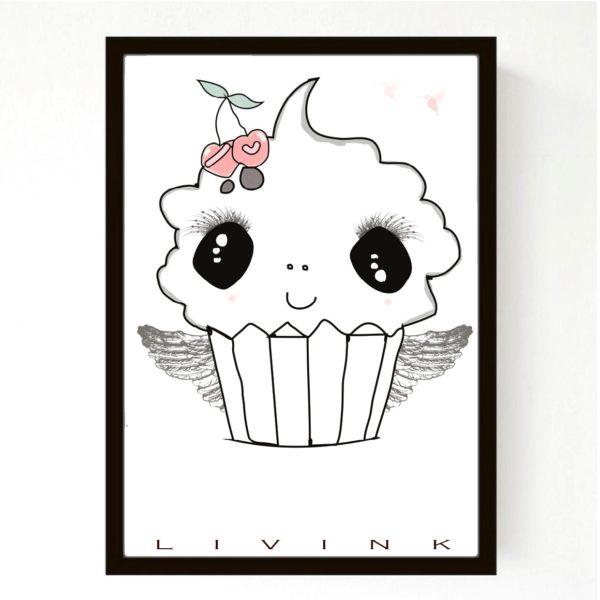 Livink - Cupcake - 50x70 cm.