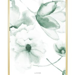 Livink - Flower mix - green - 50x70 cm.