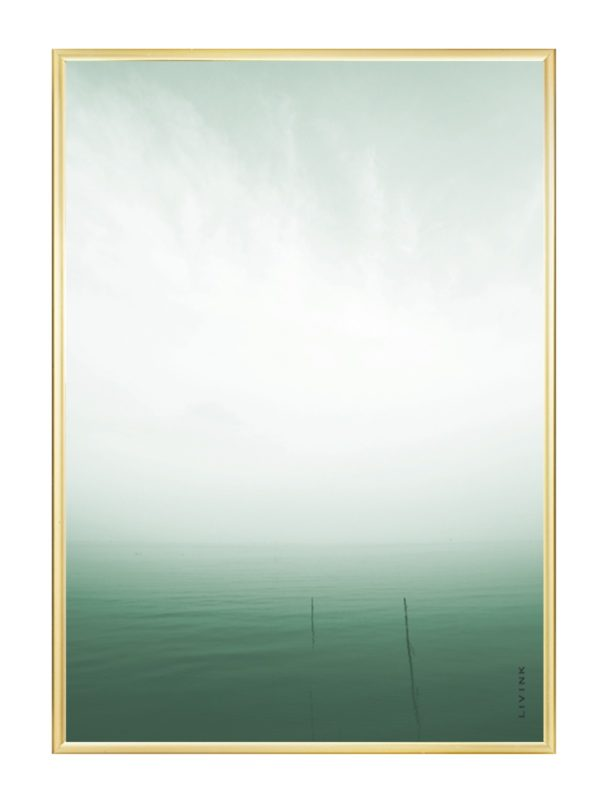 Livink - Green silence - 50x70 cm.