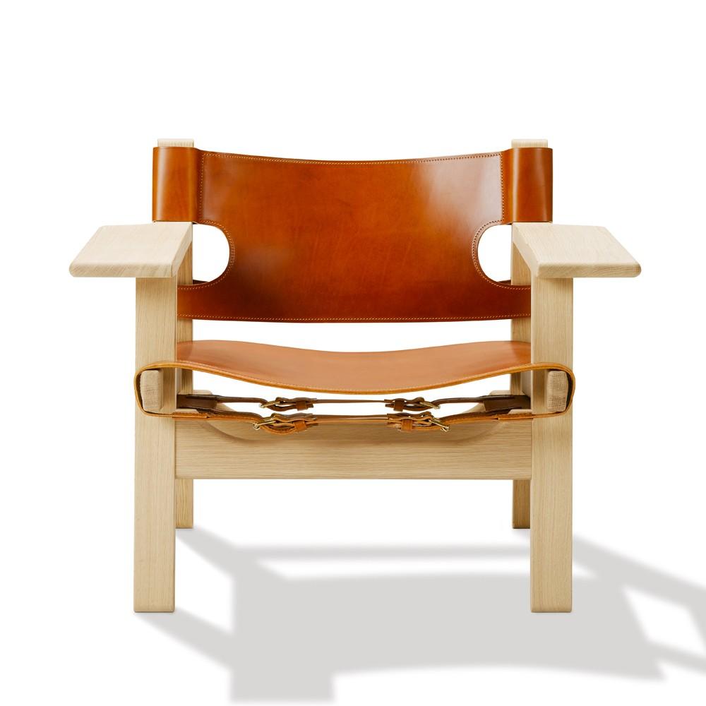 Den Spanske Stol - 2226, cognac / eg