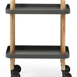 Normann - Block table - Dark Grey
