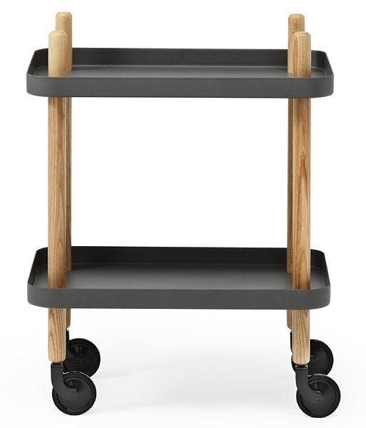 Normann - Block table - Dark Grey