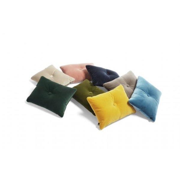 Hay - Dot Cushion Soft - Blue